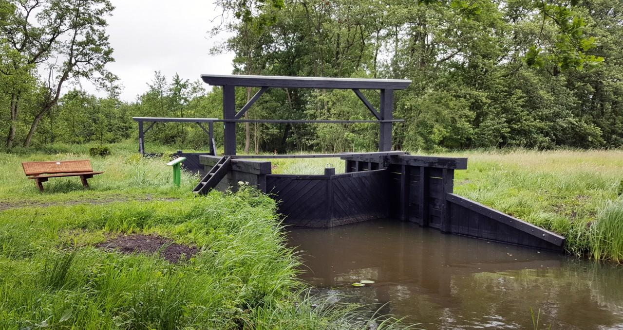 Cultuurhistorisch monument Van Helomasluisje is mede dankzij ondersteuning van de Van Heloma Stichting gerestaureerd.